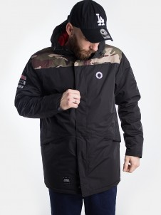 Conversion Parka Black/Camo