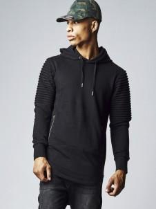 TB 1414 Pleat Sleeves Black