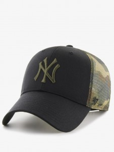 New York Yankees MVP Trucker Black/Camo