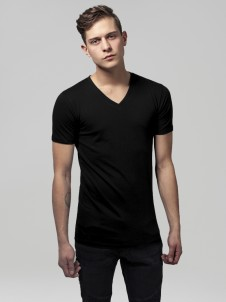 TB 1559 Basic V-Neck Black