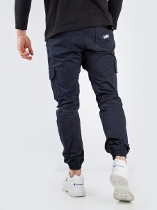Jogger Cargo Label Navy