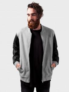 TB 984 Zipped Leather Imitation Grey