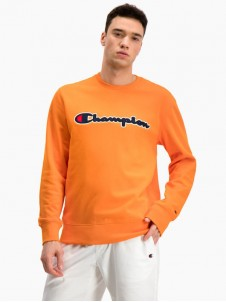Satin Logo Script Orange