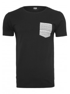 Contrast Pocket Black/Aztec