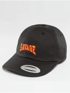 Savage Dad Cap Black