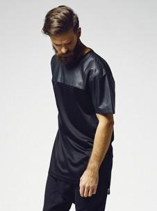 Mesh Long Jersey Black/Black