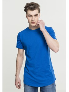 Shaped Long Tee Bright blue