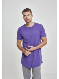 Shaped Long Tee Ultraviolet