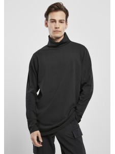 Turtle Neck LS Black
