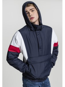 3-Tone Pull Over Navy/White/Red