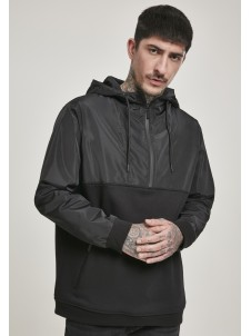 Military Half Zip Black