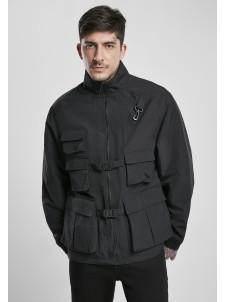 Multi Pocket Nylon Black
