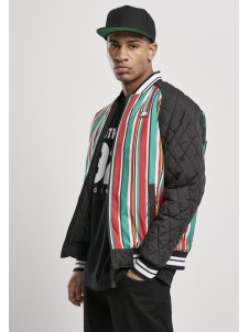 Stripe College Jacket Multicolor
