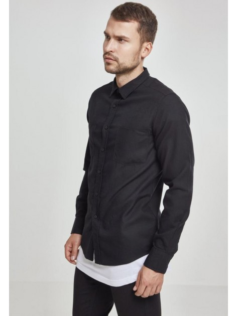 Checked Flanell Black