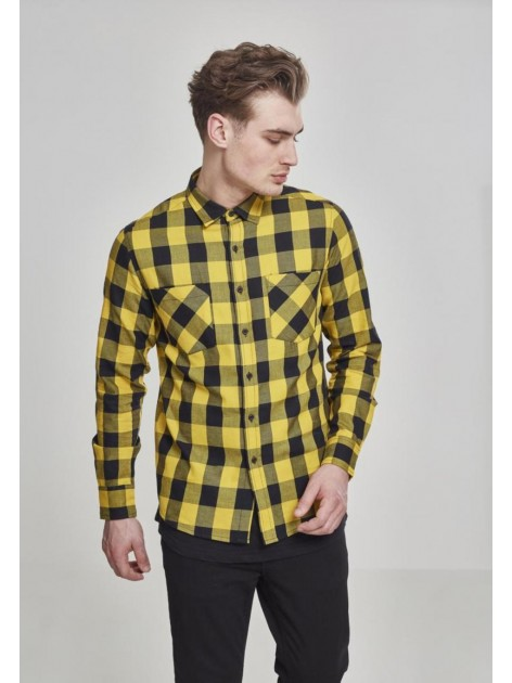 Checked Flanell Honey