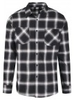 Checked Flanell Black/White