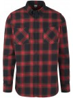 Checked Flanell Black/Red