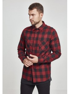 Checked Flanell Red