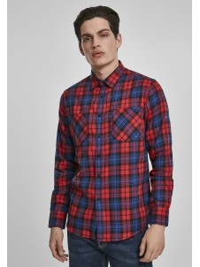 Checked Flanell Red/Royal