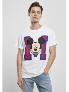 Mickey Mouse M Face White