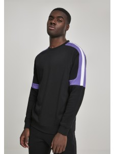 Terry Panel Black/Ultraviolet/White