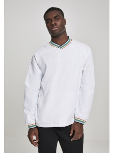 Warm Up Pull Over White/Multicolor
