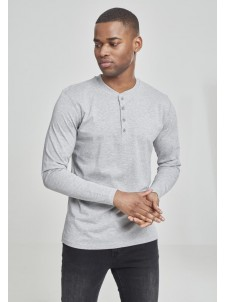 Basic Henley Grey