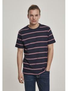 Yarn Dyed Skate Stripe Navy/Red