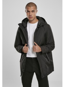 Hooded Long Black