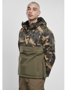 Camo Mix Pull Over Olive/Wood Camo