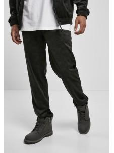 AOP Velour Pants Black