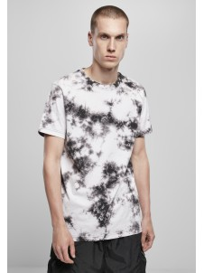Black Tie Dye White/Black