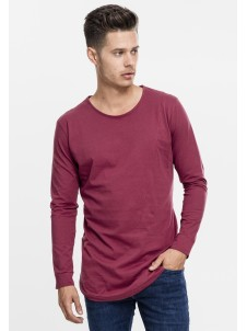 Long Shaped Fashion Burgundy