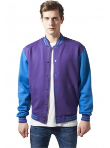 2-tone College Purple/Tourquse