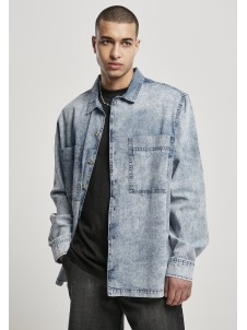 Oversized Denim Acid Washed