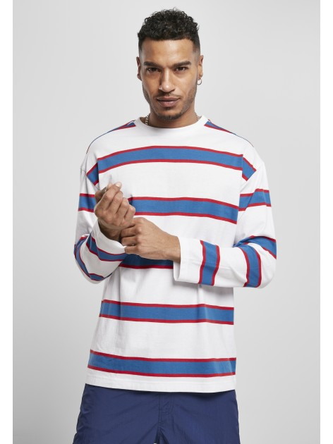Light Stripe Oversized White/Sportyblue