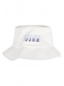Miami Vice Logo White