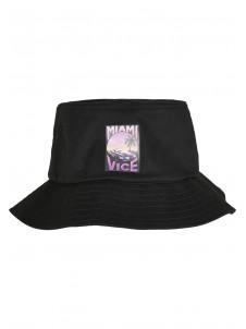 Miami Vice Print Black