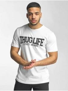 Thug Life Street Boxing Tee white L
