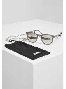 Arthur with Chain Grey/Silver