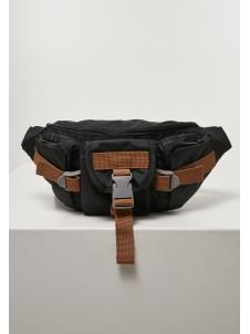 Hiking Recycled Ripstop Shoulder Bag Black