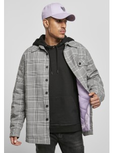 Plaid Out Quilted Black/White