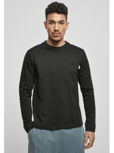 Organic Basic Pocket LS Black