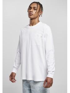 Organic Basic Pocket LS White