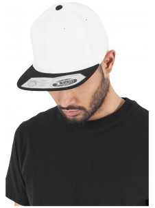 110 Fitted Snapback White/Black