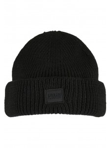 Knitted Wool Black