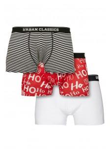 Bokserki Boxer Shorts 3-Pack Hohoho/Black/White