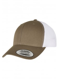 Czapka Snapback CLASSICS RETRO TRUCKER CAP 2-TONE Olive/White