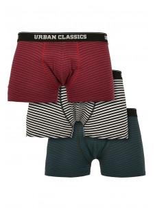 Bokserki Boxer Shorts 3-Pack Green/Dark Blue/Black