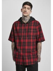 Koszula Hooded Short Sleeve Black